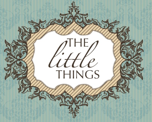 The Little Things Banner
